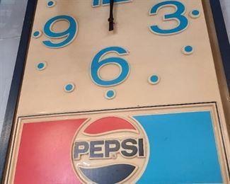 Pepsi Clock - works