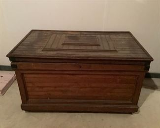 Antique Trunk Early 1900s Charleston