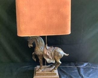 Tang Horse Lamp