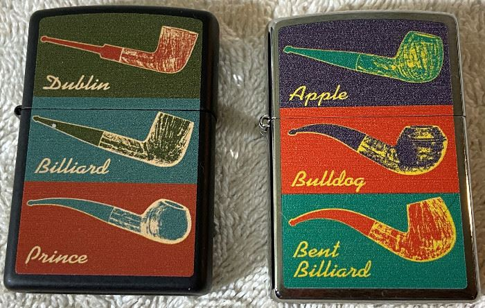 Two 2013 Pipe Lighters