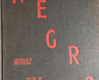 Negro 1st edition book. From the desk of Claude A Barnett, Founder of the Associated Negro Press. AUCTION.
