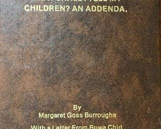 Book by Dr Margaret Goss Burroughs