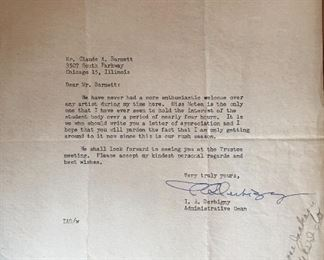 1942 Tuskegee Institute Letter