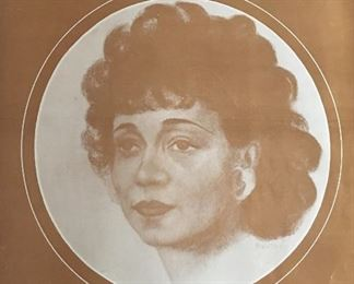 Etta Moten Barnett Sheet Music AUCTION