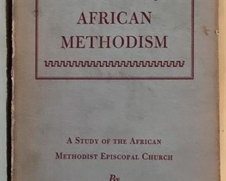Signed African Methodism Book.