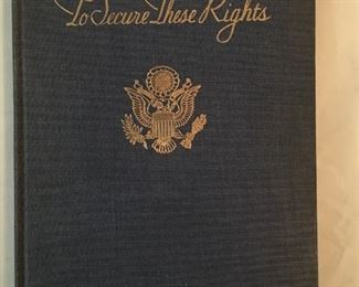 To Secure These Rights book.