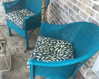 Wicker Chairs $ 44.00 (each) - 2 Available with cushions