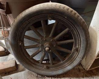 Model T early automobile wheel