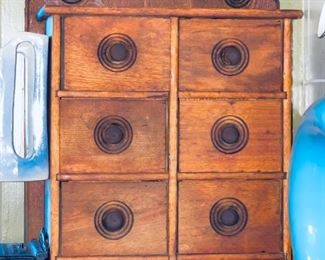 Another antique spice cabinet
