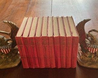 The World's 100 Best Short Stories, ten volumes, 1927