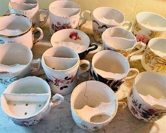 Moustache cups!