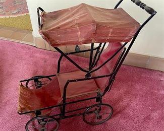 Victorian period baby carriage/pram