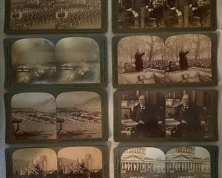 A sampling of the stereoscope cards