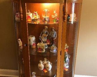 "Curio cabinet $125  5'x35""x13"""