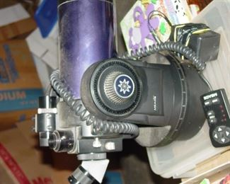 Older Meade telescope.  It's serial-controlled, so it'll require the hands of someone experienced and qualified.