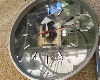 MCM Howard Miller clock designed by George Nelson
