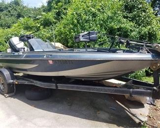 Procraft Bass boat, trailer