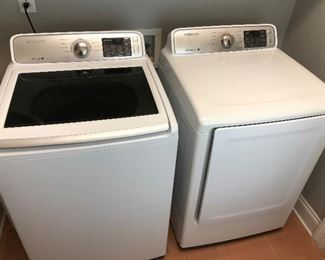 Excellent Samsung washer and dryer.
