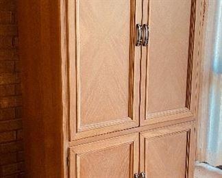 """1.  TV cabinet • 80""""high x 40"""" wide x 22"""" deep • $145"""