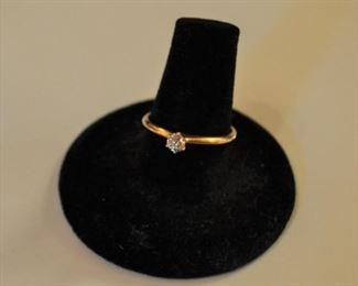 #J4 Sweet diamond ring  $165.00