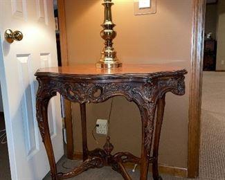 "Antique ""Weiman"" table"