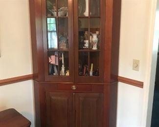 Antique Corner Cabinet $ 298.00