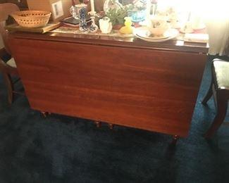 Antique Drop Leaf Table $ 224.00