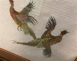 Pheasant Crosstitch