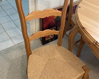 Example of kitchen table chairs