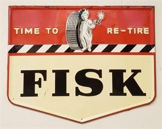 Original Fisk sign