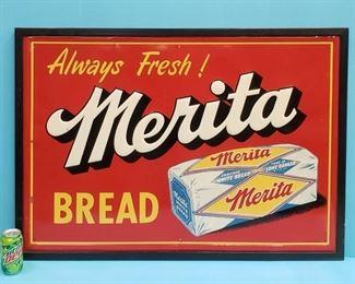 Original Merita Bread sign