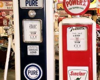 restored gas pumps