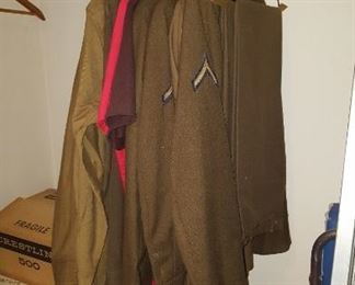 WWII US Military Uniforms