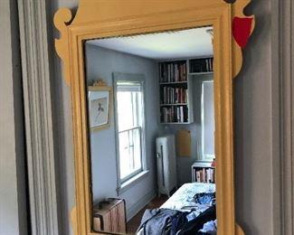 1800s mirror