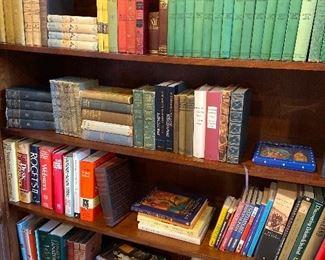 Bobbsey Twins, Nancy Drew, Hardy Boys books