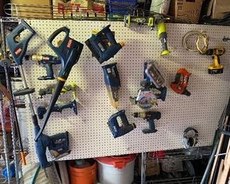 Edger, blower, drills and more!