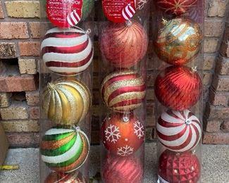 HUGE Christmas balls