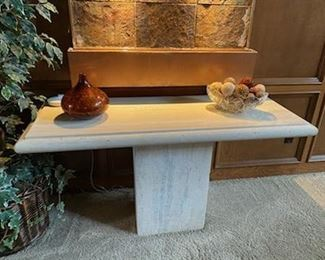 Italian travertine versitale sofa or stand alone table *we have two