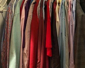 Men's dress & casual long and short sleeve shirts