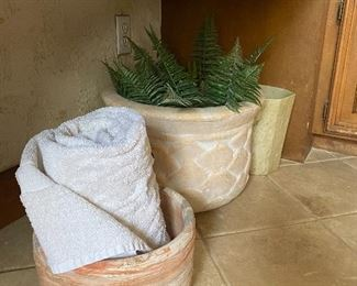 Stone baskets