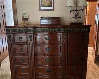 15 drawer tall boy dressor ▪︎purchased @ Dillards