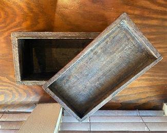 Inside mystery box