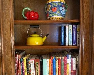 Cook books galore!