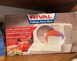 Rival slicer