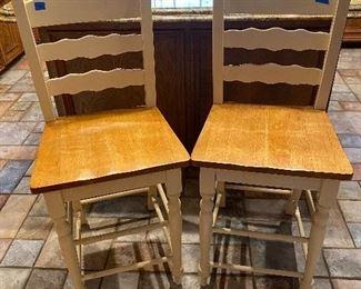 Bar stools - front side
