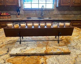 10 votive candle holder
