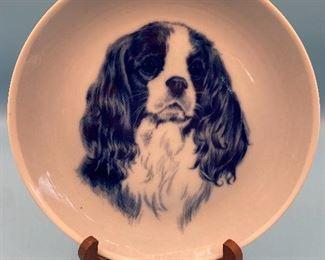 Natalia Mitlina Cavalier King Charles Spaniel Original Hundeplatte Denmark