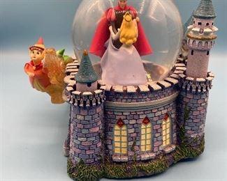 Cinderella & her prince music globe