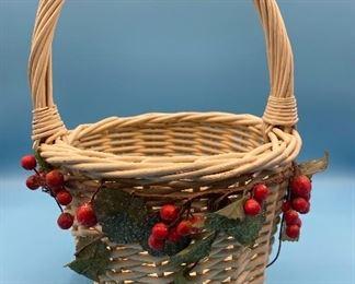 Holly basket