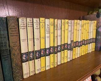 Vintage Nancy Drew series